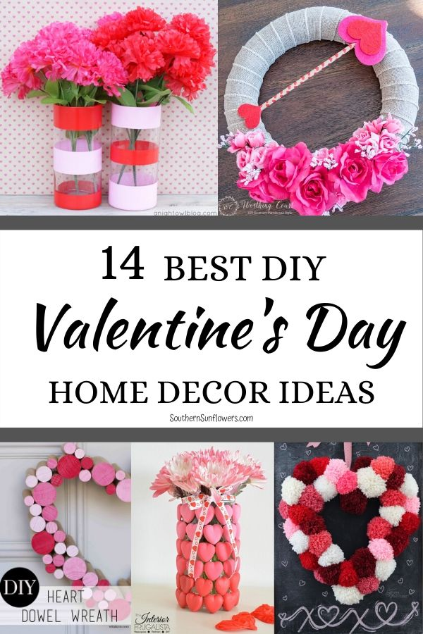 14 Diy Valentine S Day Home Decor Ideas Southern Sunflowers